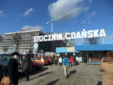 doky v Gdańsku – tam to všechno začalo